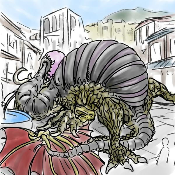 風船ドラゴン(魔竜バルゲイド)