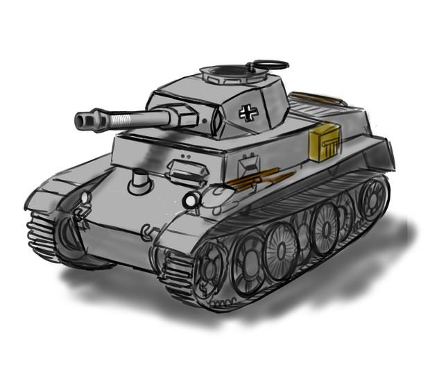 Ⅰ号C型 10.5cm Kw.K.L/28 【空想兵器シリーズ2】