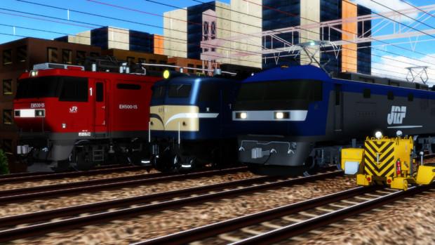 うちの主力機関車