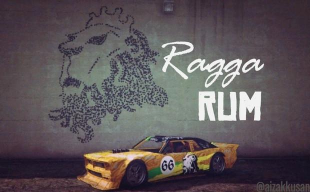 【銃弾アート】Part.130 Tampa ボディーペインティング【RaggaRum】