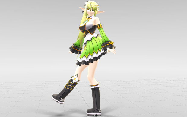 [MMD-Elsword] Rena Wind Sneaker DOWNLOAD!