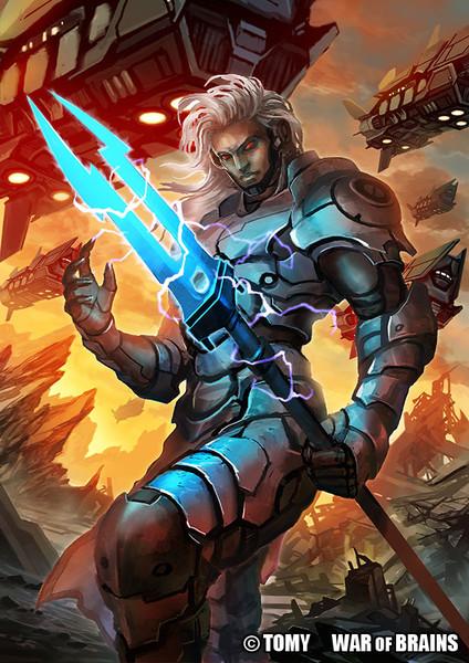 【WAR OF BRAINS】電槍のヴァーミリオン