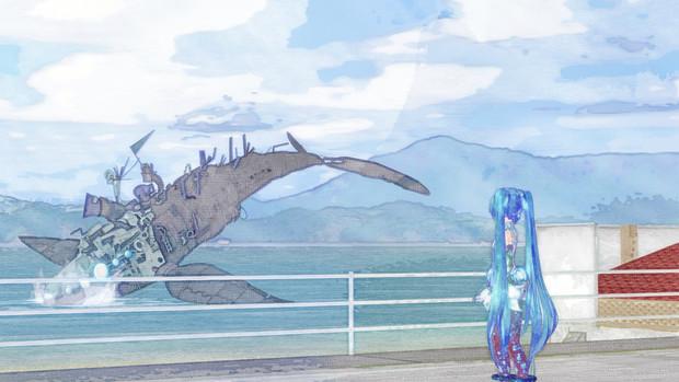 機械クジラと