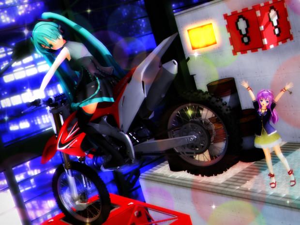 バイクでGO!GO!