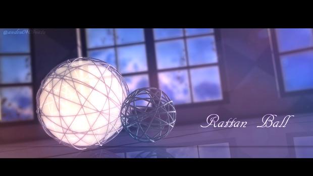 ラタンボールver.1.0【MMDアクセサリ】