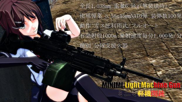 ミニミ軽機関銃と