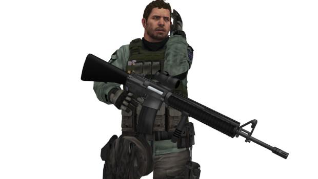 MMD武器紹介 19 M16A4