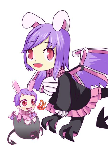 龍と化した子供&乳児hsi