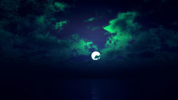 【MMDステージ配布】緑がかった夜 TS6【スカイドーム】