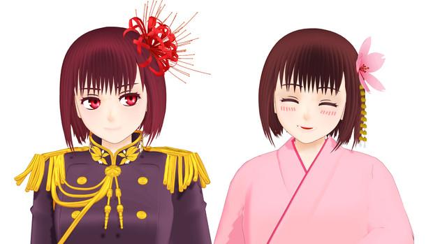 umenoe式日本娘
