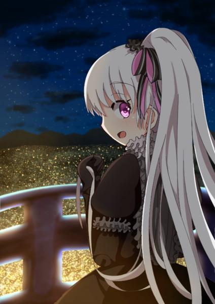 ぽにてナーサリーちゃんと夜景