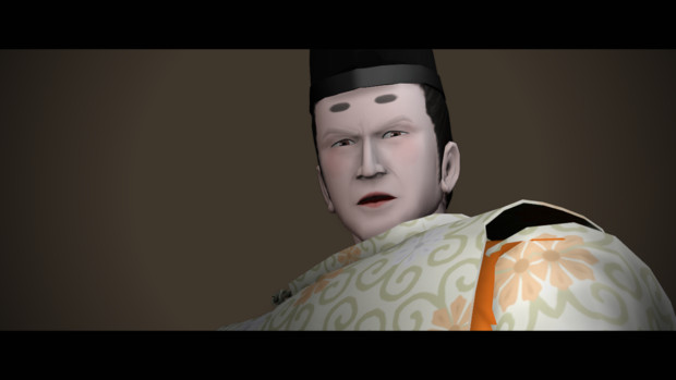 【MMD】烏丸少将、睥睨