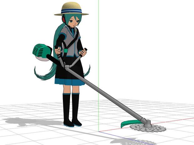 【配布】草刈り機(刈払機)【OMF7】