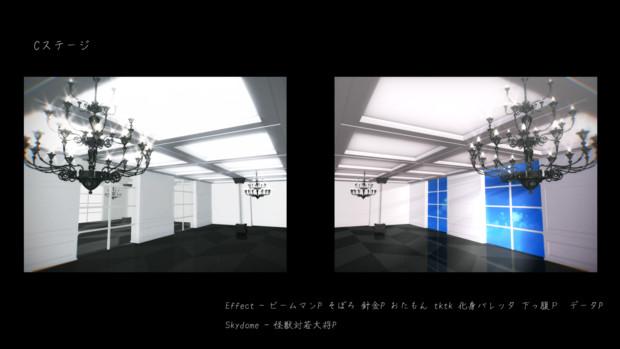 【MMD】シャンデリアステージ【ステージ配布】
