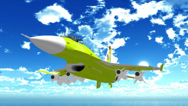 【MMD-OMF7】対艦飛翔ペンギン【配布あり】