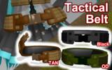 Tactical Belt ver1.0 【MMDモデル配布】