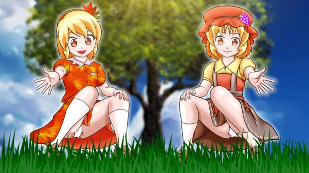 [東方] 5月5日はこどもの日、そんなある日のロリ静葉&穣子
