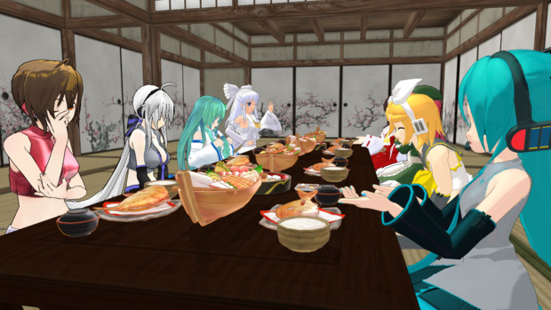 夕食会:グループ3 ③