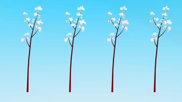 【MMD-OMF7】桜の小枝