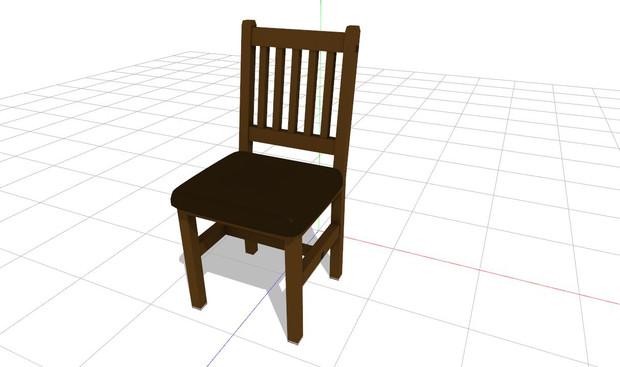 """【MMD】""""椅子""""【アクセサリ配布】"""