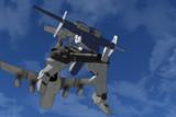 【MMD-OMF7】12式装甲歩行戦闘車【モデル配布】