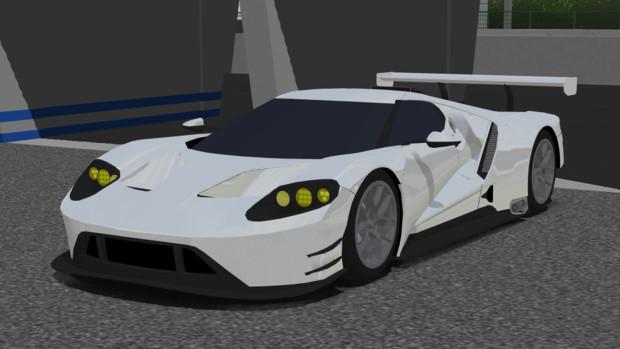 【MMD-OMF7】Ford GT LM GTE