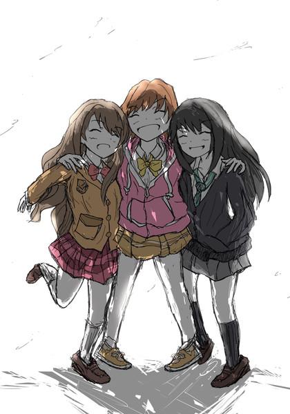 3人で思いっきり笑えるように