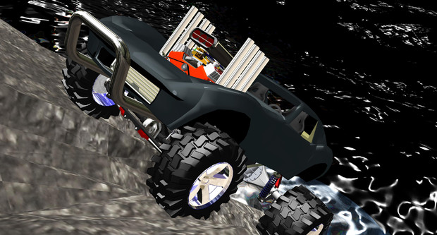 Stingray Corvette  Rock Crawler