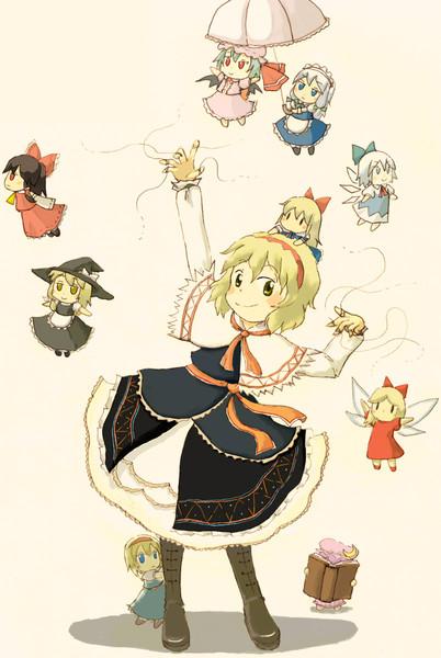 アリスの人形劇 Laughsketch さんのイラスト ニコニコ静画 イラスト