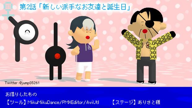 ★MMD★真島吾朗君誕生日おめでとう!