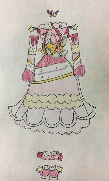 マゼランパフェイメージドレス