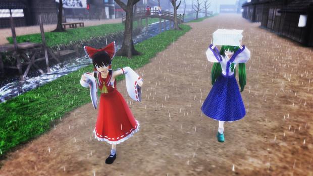 局地的豪雨 in 幻想郷