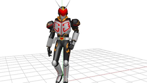 仮面ライダーカリスver.3【仮面ライダー剣】