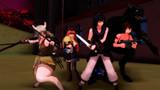 【テイルズオブMMD】妖獣団の襲撃を受ける村