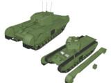 【MMD陸軍】 チャーチルMk-Ⅶ歩兵戦車 【モデル配布】