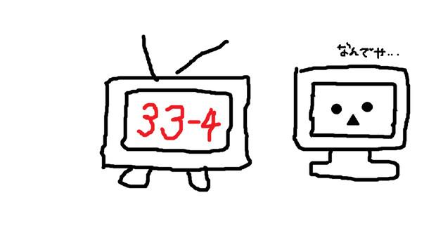 テレビちゃんの入れ替わり