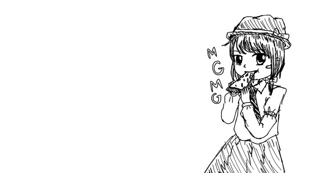 蓮子とピッツァ
