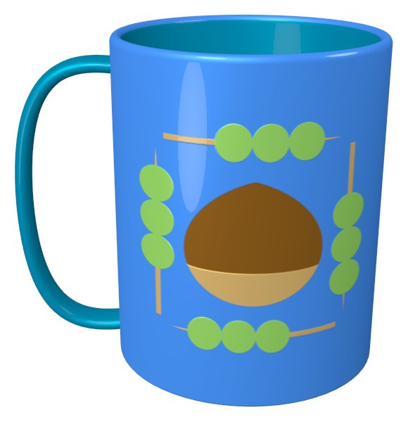 ダンク(ダン・ゴとク・リ)のマグカップ