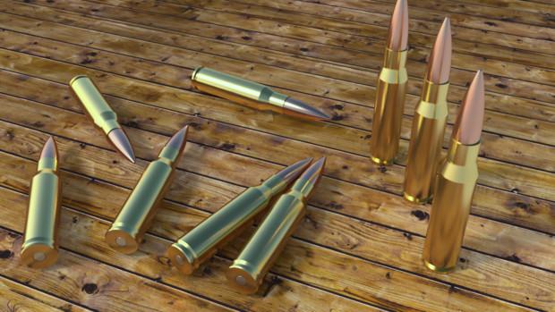 【Blender】7.62x51mm NATO弾