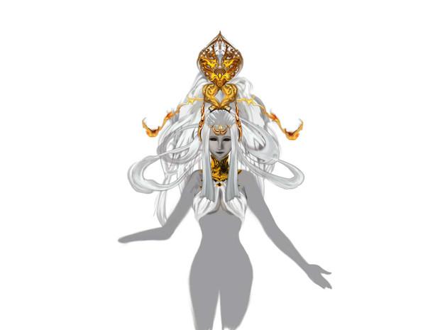 FF14女神ソフィア 途中段階