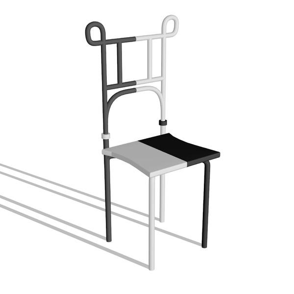 【MMDアクセサリ配布】椅子