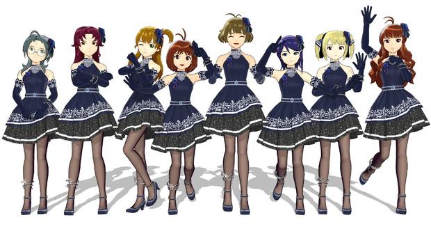【MMDモデル】リフレインロマンスDS Ver1.1