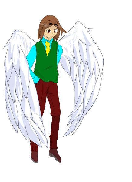 有翼のハーフブリード