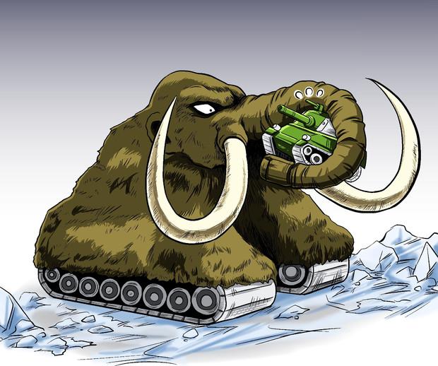 マンモスタンク