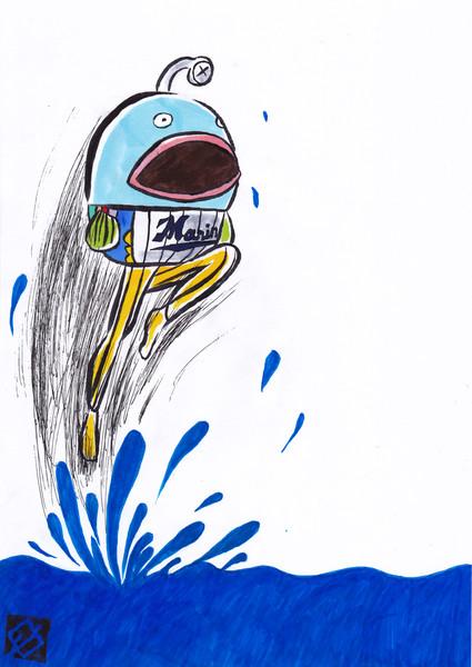 【もどき】ロッテ 謎の魚