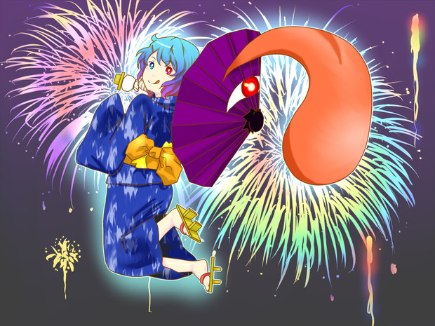 小傘のお祭り