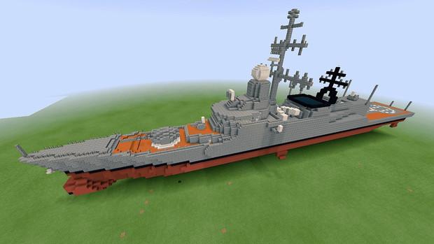 【Minecraft】新型フリゲート艦『ロマノフ』