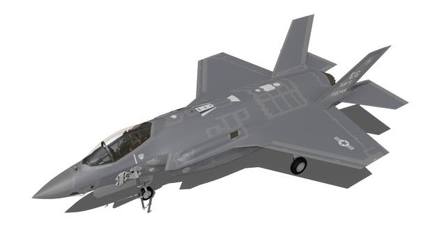 【MMD用】F-35A