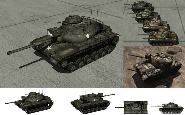 MMD用モブ主力戦車1960(モブ60A1)セット