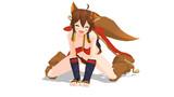 橘狛犬配布開始しました!